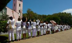 Damas de Blanco demonstration in Havana, Cuba - Cuba – Wikipédia, a enciclopédia livre