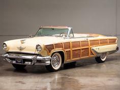 1955 Lincoln Capri Woodie Sportsman Convertable.....very cool...