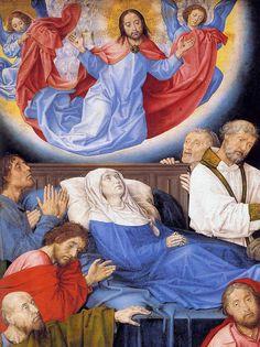 The Death of the Virgin by Hugo van der Goes (Ghent, ?c. 1440 – Oudergem, near Brussels)