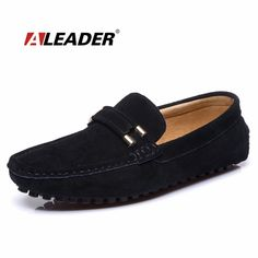 30.00$  Buy now - http://aliscx.shopchina.info/1/go.php?t=32373895040 - Casual Men Loafers Suede Leather Driving Shoes 2015 Hand Made Flat Designer Shoes Mocassins Slip on Loafers Men Fashion Shoes  #buyonline