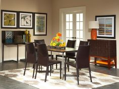 "Conal 60"" Dining Table with Glide Chairs"