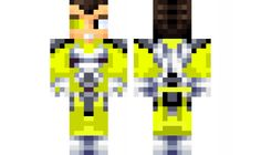 minecraft skin Vegetta777-Yellow