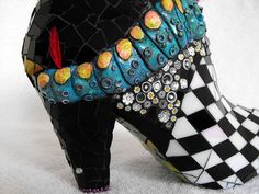 Alice in Wonderland shoe, via Flickr.