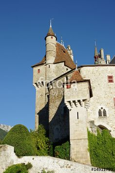 chateau menthon saint Bernard