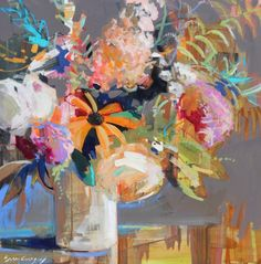 Erin Gregory's Aglow 8 has colors that sing Spring! Create a palette with these colors.