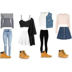 Outfits With Timberlands - Polyvore