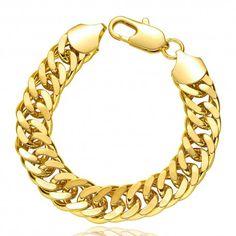 Fashion Unisex Jewelry Gold Geometry Dragon Claw Buckle Bracelet Best Gift