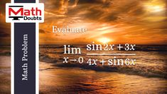 Find the Limit of trigonometric function as x approaches 0 in Calculus Mathematics Problem Trigonometric Functions, Math Problems, Problem And Solution, Calculus, Mathematics, This Or That Questions, Math, Math Activities