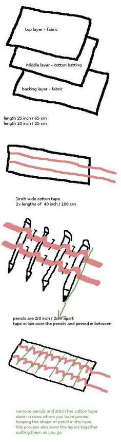 DIY - Pencil Roll                                                                                                                                                                                 More