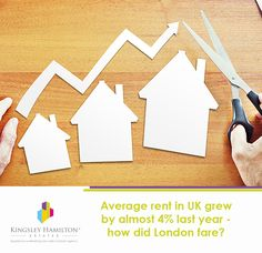 How much did the rent in London increase by in 2015?