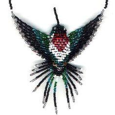 3D Ruby Throated Hummingbird
