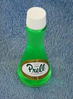 Prell Shampoo--didn't know it was stripped hair!