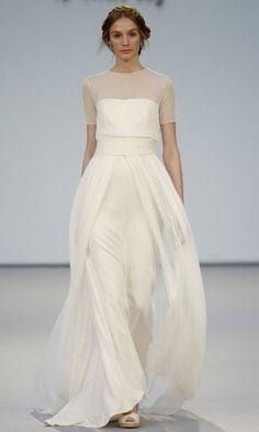 Vestidos de novia 2017 sencillos | Estilo y Belleza