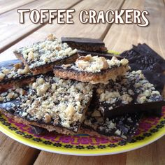 Toffee crackers http://wateetjedanwel.nl/toffee-crackers/