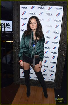 Kelli Berglund at the AQUAhydrate suite during the Drake and Future concert