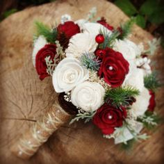 Wedding Bouquet, Winter Pine Bouquet, sola bouquet, Wedding, winter bouquet, Christmas Bouquet, Bride Bouquet, Sola flowers, woodland Christmas Wedding Bouquets, Winter Bridal Bouquets, Red Bouquet Wedding, Winter Bouquet, Winter Wedding Flowers, Bride Bouquets, Winter Weddings, Sola Flowers, Prom Flowers
