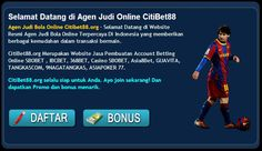 bagi para para penggila olah raga sepak bola - pada permainan yang sangat di gemari ialah bermain judi online di internet secara online yang