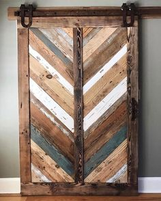 Throwback to this gorgeous door by @sonsofsawdust. This barn door features 100 year old wood from numerous abandoned buildings and we love the history and story behind this reclaimed door. Hung with our Draft hanger. #slidingbarndoor