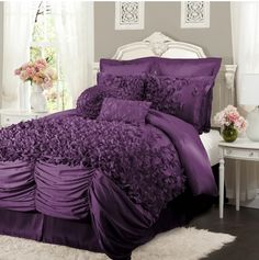 1000 Images About Purple Bedroom Ideas On Pinterest