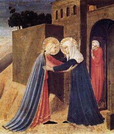 La visitation , Fra Angelico