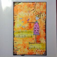 Jackie Payne ... : Stampotique Designers Challenge 184 ....Bring Me Sunshine
