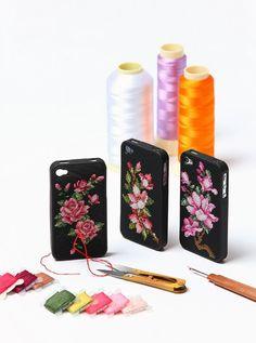 cross Stitch Cell Phone Case