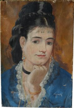 The Athenaeum - GONZALES, Eva French Impressionist (1849-1883)_Self Portrait- 1879