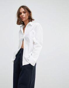 Wood Wood Silvia Core Shirt - White