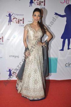 Classy Malaika Arora Manish Malhotra  Ramp Anarkali Lehenga buy it now at andaazcollectionscanada