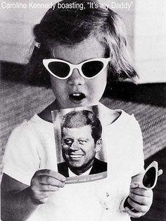 """That's my Daddy!""... Caroline Kennedy, 1961"