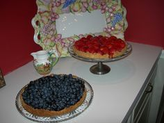 Blueberry and Strawberry Tartes