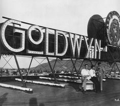 Historic Photograph of Goldwyn Studios In Culver City