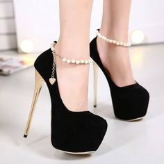 8d529068a 75 sapatos de salto Super tendências para atualizar seu guarda-roupa Saltos  Pretos, Sapatos
