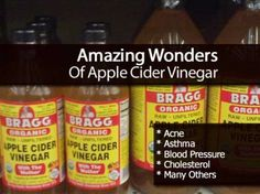 Amazing Wonders Of Apple Cider Vinegar