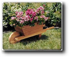Add a wheelbarrow planter to your garden and create an old-fashioned look to your backyard and home. Outdoor Projects, Wood Projects, Wheelbarrow Planter, Yard Art, Planters, Planter Ideas, Beautiful Gardens, Container Gardening, Woodworking Plans