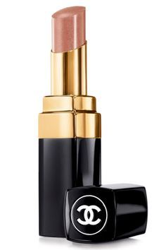 """THE 12 BEST NUDE LIPSTICKS: Chanel Rouge Coco Shine in Canotier - """"This is a great neutral brown with a natural, smooth matte finish. The color is just right—not too pale, and good for day or night, especially those times when youre rocking a dramatic eye. Your lips wont steal the show, but they definitely wont be overlooked."""" — Jeannia Robinette"""