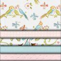 Carousel Designs (www.babybedding.com) Love Birds Collection.  I am smitten!!