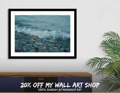 Discover «Wave Rolling in», Limited Edition Fine Art Print by Troy Stapek - From $29 - Curioos