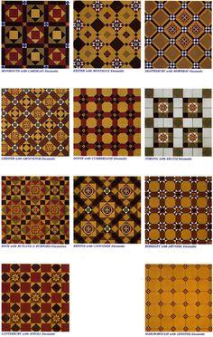 Geometric and Encaustic Tiles