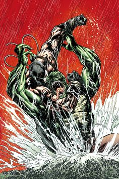 DC Comics has unveiled this panel from Forever Evil: Arkham War spotlighting Bane in a Batman costume. With the Dark Knight out of the picture, the […] Comic Villains, Comic Book Characters, Comic Character, Comic Books Art, Comic Art, Batman Dark, Im Batman, War Comics, Dc Comics Art