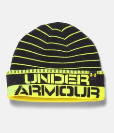 401933f5c7e Shop Under Armour for Boys  UA Chillz Stripe Beanie in our Boys Beanies  department.