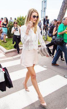 Vanessa Bruno top, Chloe skirt