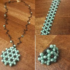 Turquoise Necklace, Beads, Jewelry, Fashion, Beading, Moda, Jewlery, Jewerly, Fashion Styles