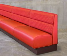 red banquette seating - Google Search