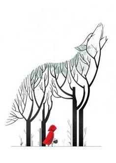 Little Red Riding Hood.. Image copyright: Cristo Salgado
