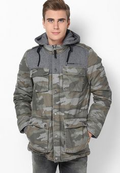 s.Oliver Green Casual Jacket
