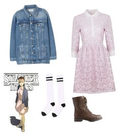Eleven - Stranger Things by maddigrace-ccc on Polyvore featuring polyvore fashion style Ukulele MANGO Topshop Charlotte Russe clothing