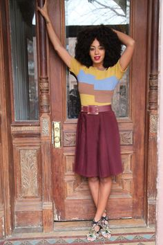 Solange Knowles For Madewell - Autumn/Winter 2012-13 Campaign (Vogue.com UK)