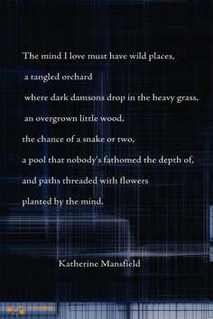 Katherine Mansfield on love. Quotable Quotes, Me Quotes, Virgina Woolf, Katherine Mansfield, Poetic Words, Soul Songs, Light Quotes, Beautiful Words, Simply Beautiful