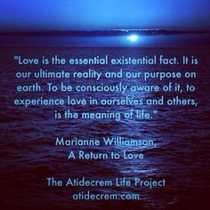 Return To Love Quotes Custom Love In Your Mind Produces Love In Your Lifethis Is The Meaning